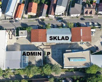 Na prenájom: Administratívne a skladové priestory v Bratislave