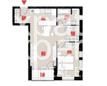 REZERVOVANÉ Úplne nový 2 - izbový byt s loggiou v novostavbe Starý Háj