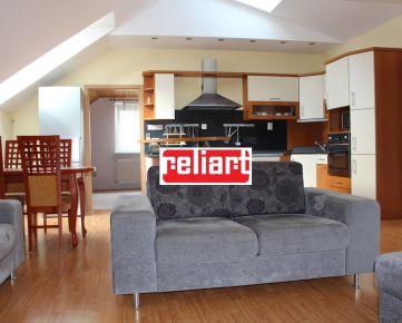 Reliart»DNV: Na prenájom podkrovný byt s terasou v RD/eng. text inside