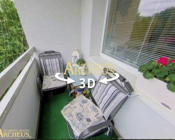 3D PREHLIADKA: 2 IZB. BYT S LODŽIOU, 64 M2, PROSTĚJOVSKÁ, PREŠOV