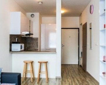1 izbový byt Petržalka na prenájom, v projekte Slnečnice s loggiou a parkovaním v garáži