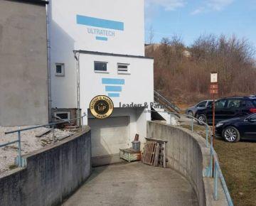 Na prenájom výrobno - skladové priestory, NMnV