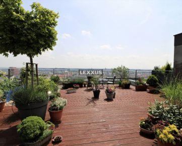 LEXXUS-PREDAJ penthouse so strešnou terasou, projekt CUBES, Koliba