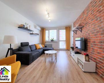 Moderne zrekonštruovaný 3 izb. byt v Dúbravke