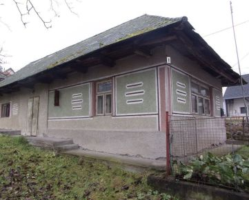 Exkluzívne na predaj zachovalý vidiecky rodinný dom 65 m2, na pozemku 1006 m2, Hrušov, Veľký Krtíš