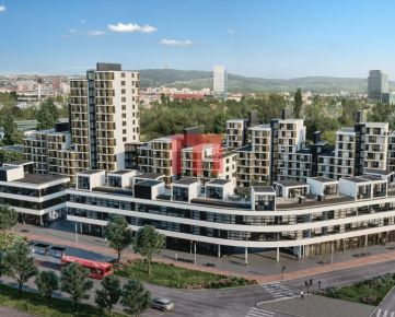 REZERVOVANÝ- Na predaj moderný 2 izbový apartmán v projekte NIDO 2