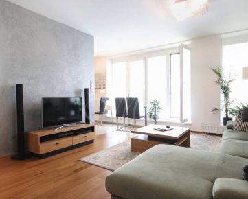 Priestranný 3i byt na prenájom v Bratislave, parkovanie, klimatizácia