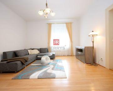 HERRYS - Na prenájom priestranný zariadený 2 izbový byt oproti Centrálu na Trnavskom mýte