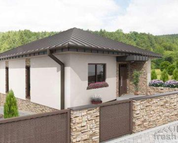 Novostavba rodinného domu v Púchove v lokalite Vieska-Bezdedov