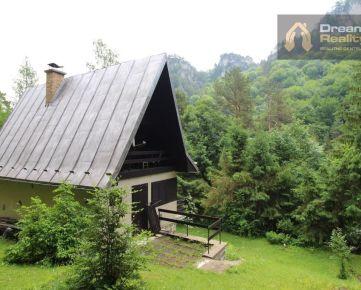 Rekreačná chata v Súľovských skalách