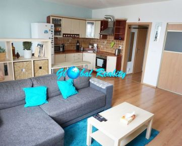 1,5 izbový byt Trenčín na prenájom, Východná ulica, zariadený, 40 m2 + balkón