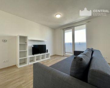 Priestranný úplne nový 3i byt v novostavbe s balkónom na prenájom v Petržalke
