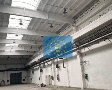 Prenájom obchodno-skladovacích priestorov v KE - Južná tr., od 500 - 2500 m2