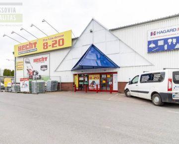 Na prenájom supermarket Hruška, obchodná zóna, Prešov