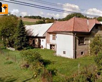 Vidiecky dom Horná Mičiná s veľkým pozemkom na predaj - 1500m2