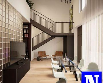 """Exkluzívne na predaj nebytový priestor 100m2 """"Loft work and living"""" novostavba Dve sýpky Jarovce"""