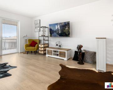 Na predaj 3 izb. byt v novostavbe 89,55 m² s terasou - Dunajská Lužná - Malinová ul.