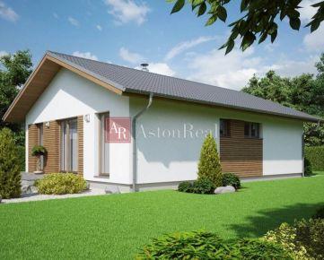 Splňte si svoj SEN o bývaní - 3-izbový rodinný dom - BUNGALOV - Hôrky