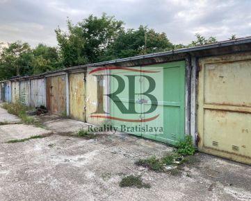 REZERVOVANE Garáž na Prístavnej ulici, Bratislava - Nivy