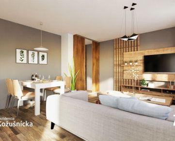 NA PREDAJ | 1 izbový byt 38m2 + balkón, 1np., Rezidencia Kožušnícka / byt A1