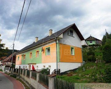 Dom v krásnom prostredí Chočských vrchov, vhodný na podnikanie s veľkým pozemok 966m2