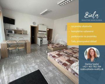 Na predaj kompletne vybavená ubytovňa - Šaľa