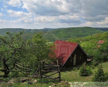 Chata medzi vinicami s krásnym výhľadom v Hrušove