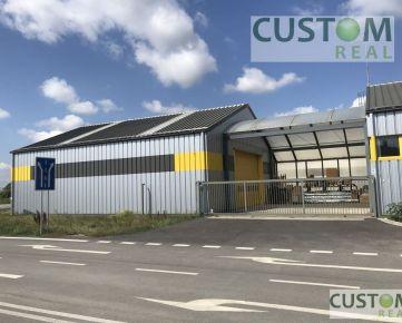 Predajňa a skladová hala s administratívnou prístavbou v  Moste pri Bratislave