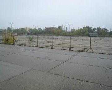 Betónová plocha na prenájom Bratislava-Nové mesto 1000-6000m2