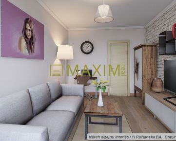 PEKNÝ 1- izbový byt s loggiou na Račianskej ulici blízko vinohradov a lesa