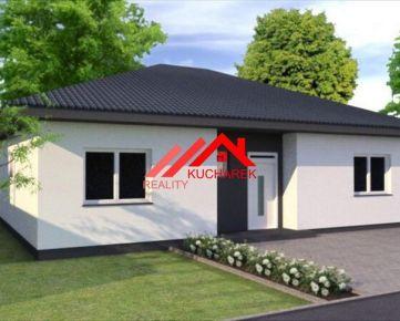 Kuchárek-real: Ponuka 4 izbový bungalov v obci Miloslavov.