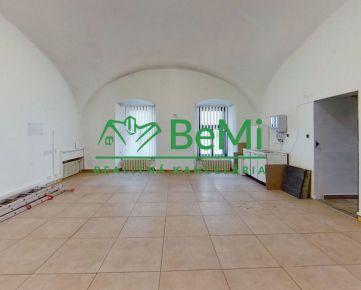 BeMi reality Vám ponúka na prenájom prevádzkové priestory na Hlavnej ulici v Prešove.