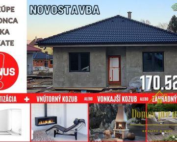 NOVOSTAVBA - rodinný dom v krásnej lokalite