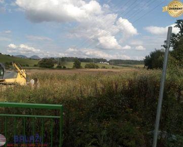 ŽILINA - Bánová  pozemok 2869 m2 na komerčné , účely všetky siete