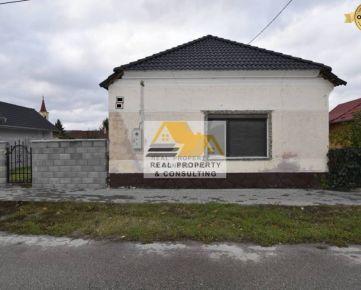 Predám rodinný dom v obci Veľký Meder