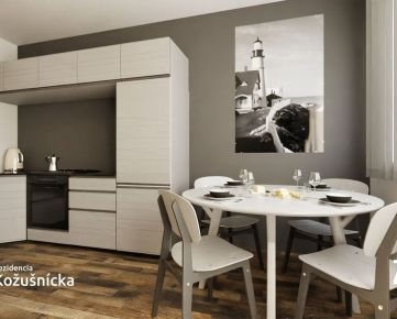 NA PREDAJ | 2 izbový byt 54m2 +  balkón, 3np. - Rezidencia Kožušnícka / byt A18