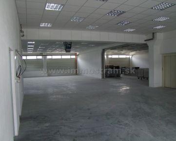 Skladový priestor 300 m2 na prenájom na Ul. Stará Vajnorská