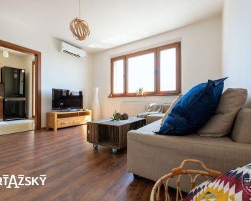 REZERVOVANÉ ꓲ 2i byt ꓲ 52 m2 ꓲ VETERNICOVÁ ꓲ útulný byt s krásnym výhľadom v blízkosti lesa