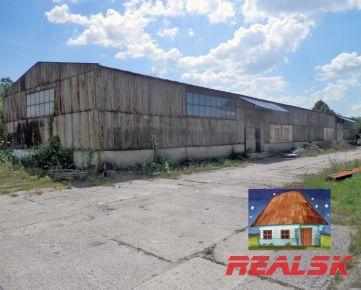 Objekt pre sklad a výrobu s pozemkom v Nitre na predaj