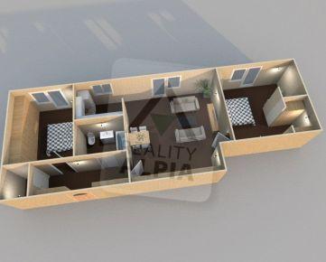 3 - izbový byt /74 m2/ Kotešová - Bytča
