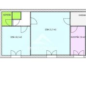 3-izb. byt 63m2, pôvodný stav