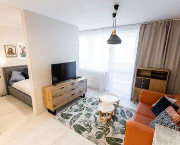 Moderne zariadený 1,5 izbový apartmán v projekte Malé Krasňany