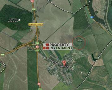 Stavebný pozemok 10000 m2 pri diaľničnej križovatke - Bratislava Jarovce