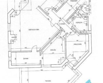 4 izb. byt, MATEJKOVA ul., zrekonštr. podľa Vašich predstáv