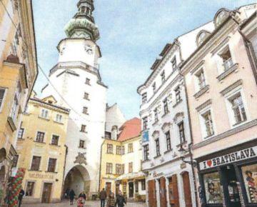 Priestor v budove na Michalskej ulici 31m2. Úplné centrum