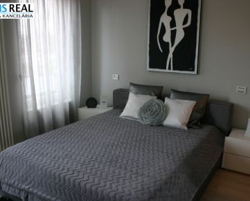NA PRENÁJOM : Moderne zariadený  2 izbový byt v novostavbe v centre mesta
