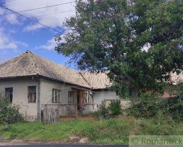 Dom v pôvodnom stave v Pliešovciach