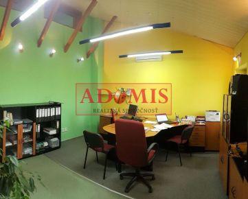 ADOMIS - predám administratívna a prevádzková budova, lokalita Košice – Juh, ulica Tranovského.