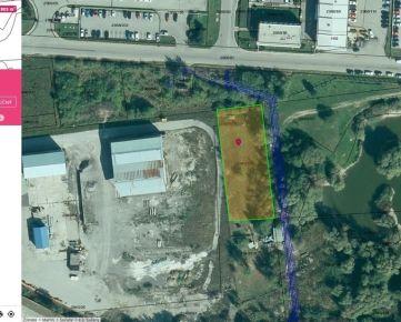Predaj pozemku p. č. 2940/153 v areáli priemysleného parku Sučany
