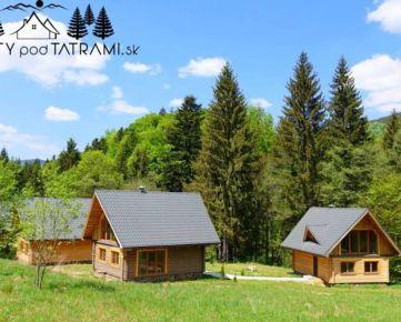 Nová chata drevenica Krpáčovo Nízke Tatry